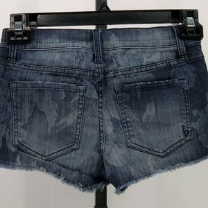 bebe Shorts - bebe denim cutoff jean shorts sz 26